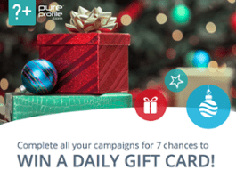 '7 Chances to Win' Festive Fun Promotion
