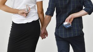 MyState Bank couples survey finds we're a sneaky lot with money