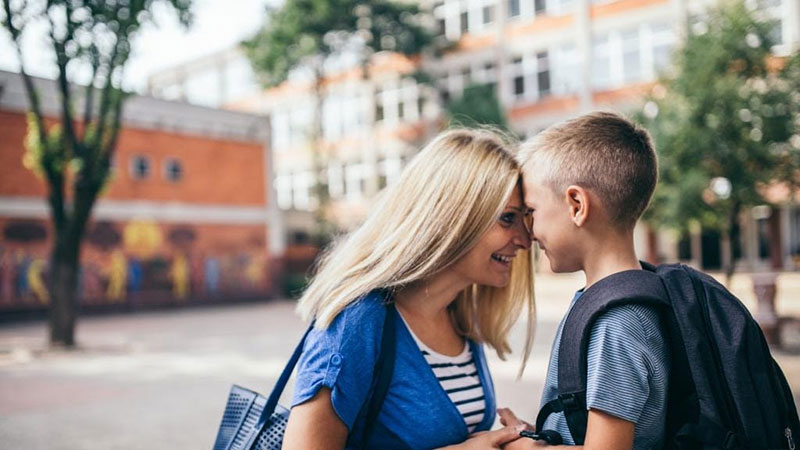 Parents almost as nervous as kids starting school
